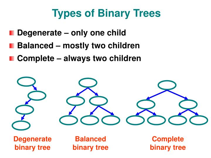 Types of Binary Trees