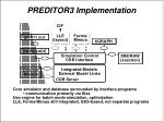 preditor3 implementation