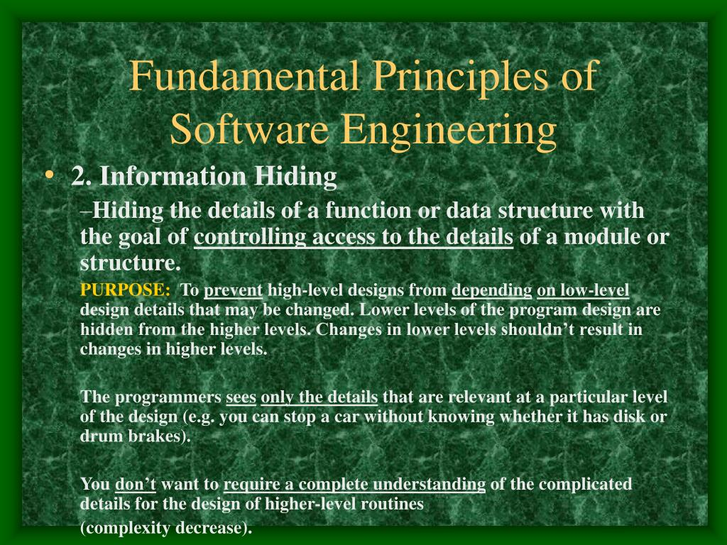 Ppt 1 Software Engineering Principles Powerpoint Presentation Free Download Id 3991647
