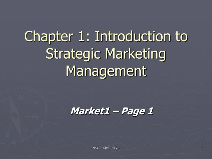 introduction to stratagic management Running head: key stages of sisp methods 1 key stages of strategic information system planning (sisp) methods and alignment to strategic management planning concepts.