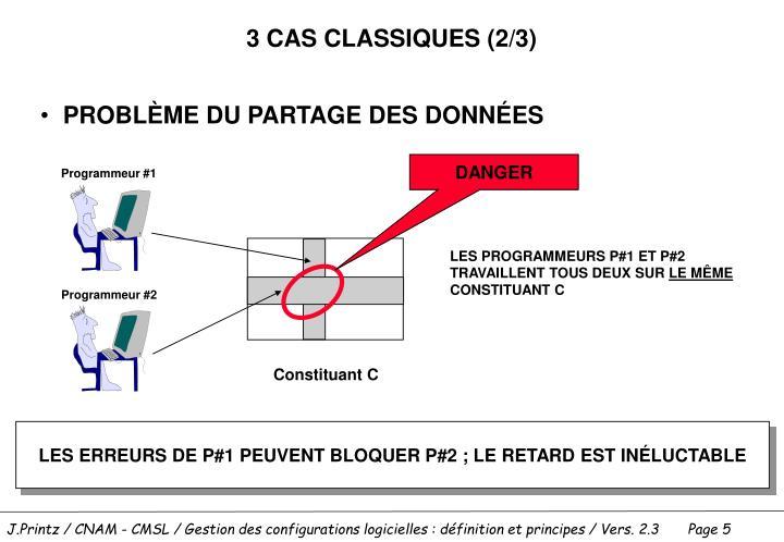3 CAS CLASSIQUES (2/3)