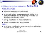 cost action on space weather action 7241