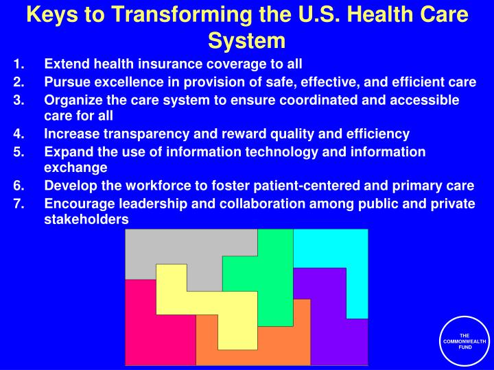 Keys to Transforming the U.S. Health Care System