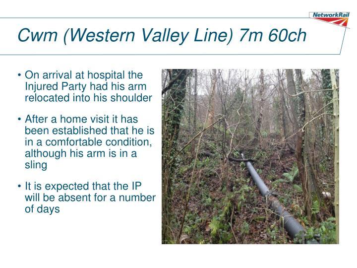 Cwm (Western Valley Line) 7m 60ch