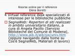 risorse online per il reference elena boretti12