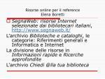 risorse online per il reference elena boretti7