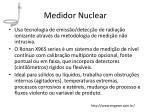medidor nuclear