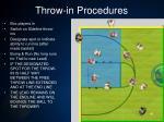 throw in procedures1