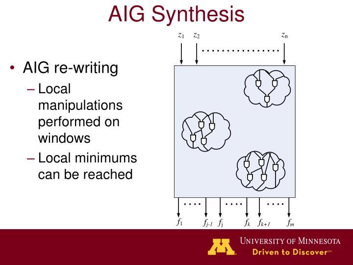 AIG re-writing