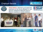 employer awards
