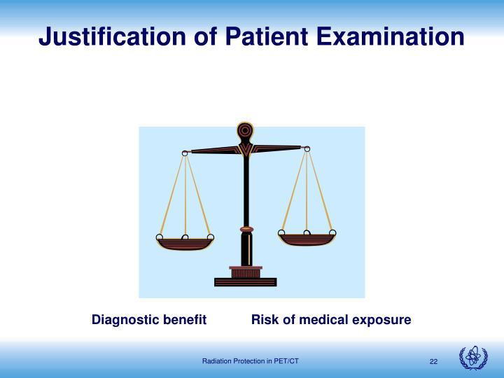 Justification of Patient Examination