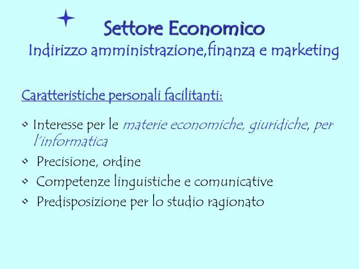 Settore Economico