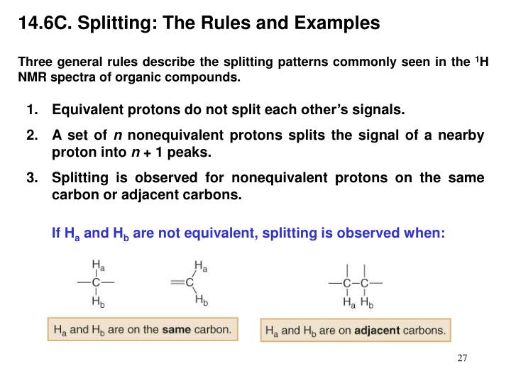 14.6C. Splitting: The Rules and Examples