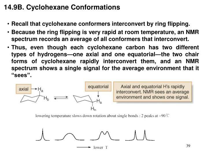 14.9B. Cyclohexane Conformations