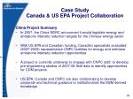 case study canada us epa project collaboration