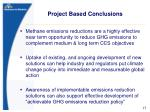 project based conclusions