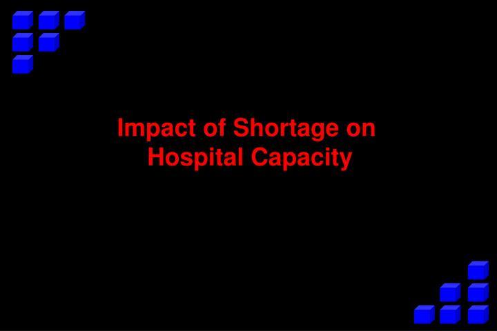 Impact of Shortage on