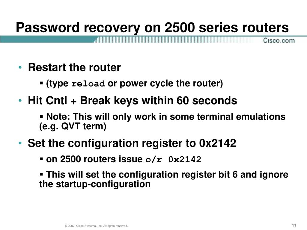 PPT - Configuration register PowerPoint Presentation - ID
