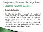 planejamento financeiro de longo prazo22