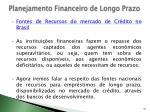 planejamento financeiro de longo prazo23
