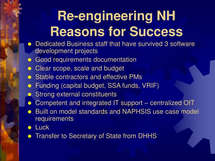 Re-engineering NH