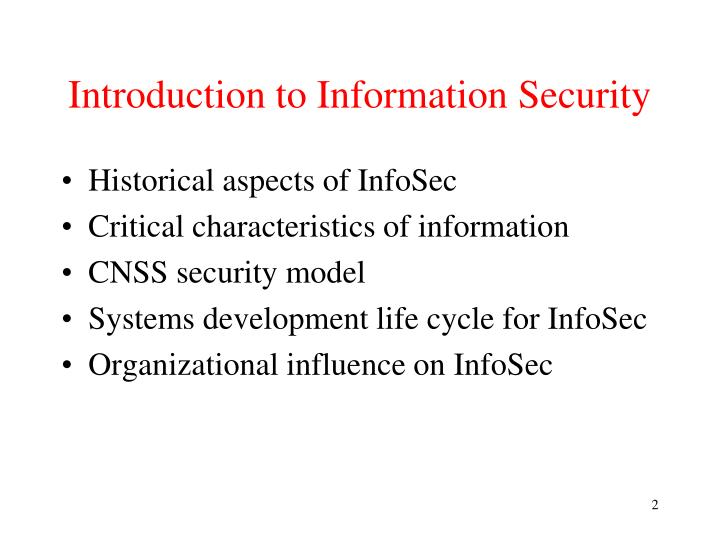 Introduction to information security1