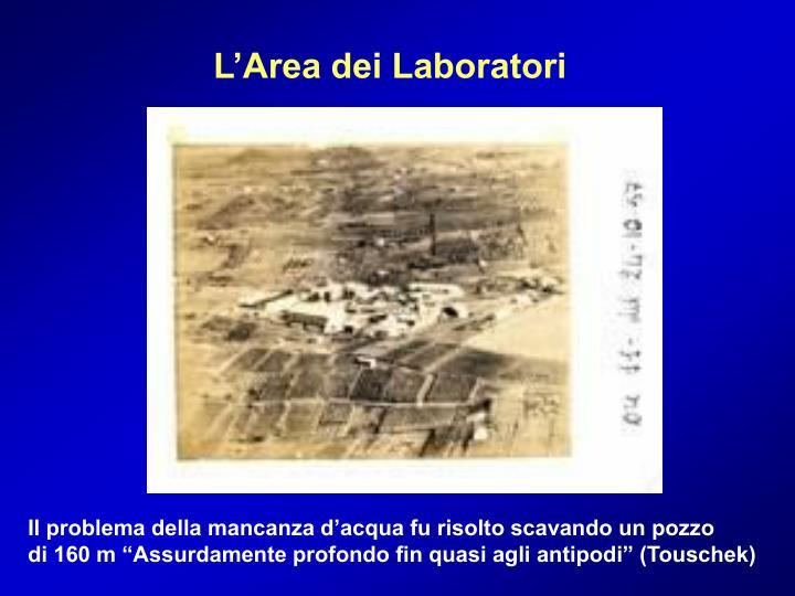 L'Area dei Laboratori