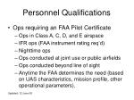 personnel qualifications1