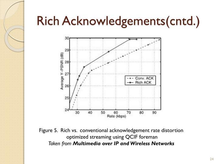 Rich Acknowledgements(