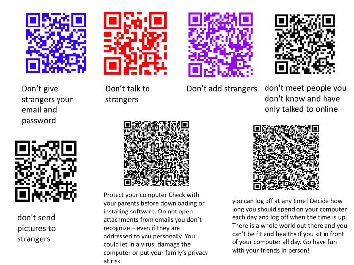 PPT - Don't give strangers your email and password