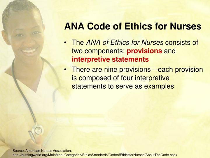 code ethics nursing Learn more about nursing ethics, the field dedicated to shaping the moral and practical guidelines for nurses across the globe.