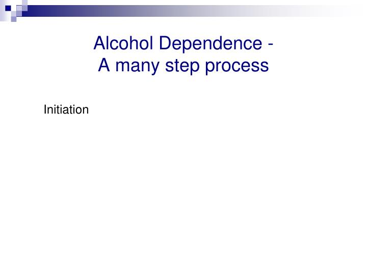 Alcohol Dependence -