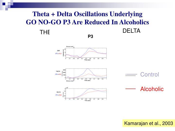 Theta + Delta Oscillations Underlying