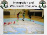 immigration and westward expansion