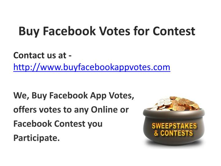 buy facebook votes for contest n.