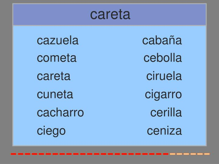 careta