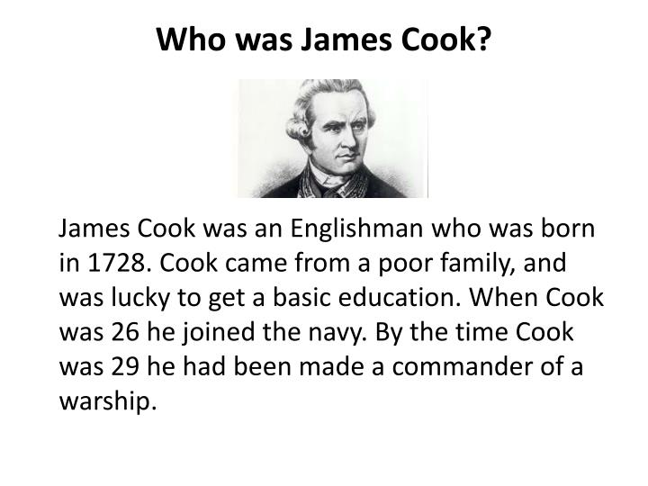 Who was james cook