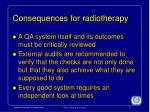 consequences for radiotherapy2