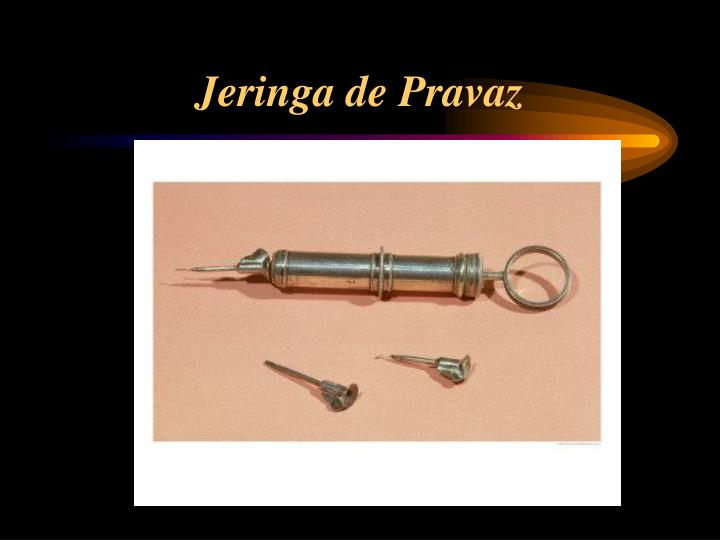Jeringa de Pravaz