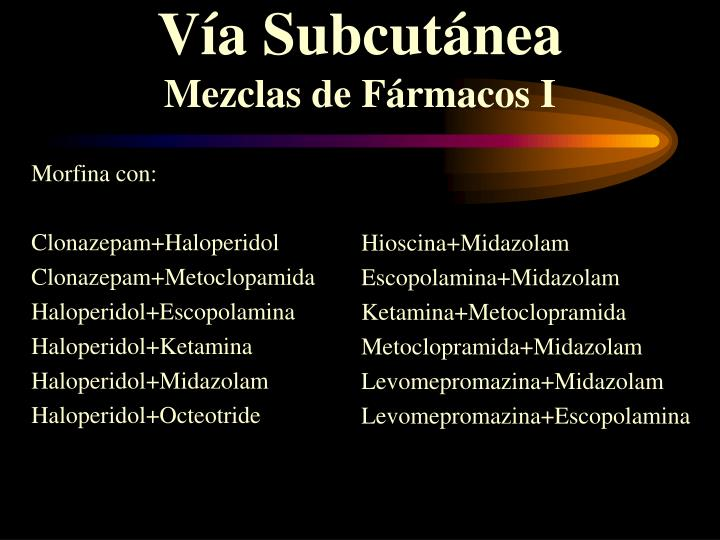 Morfina con: