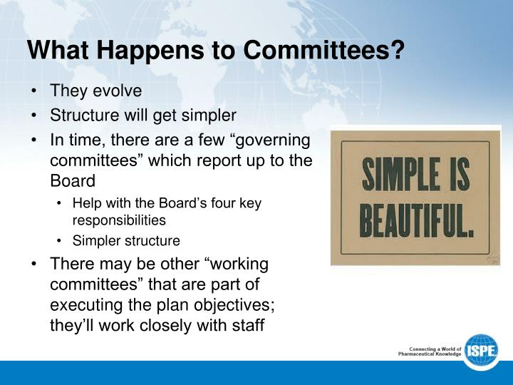What Happens to Committees?