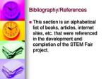 bibliography references