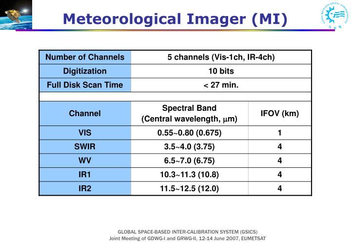 Meteorological Imager (MI)
