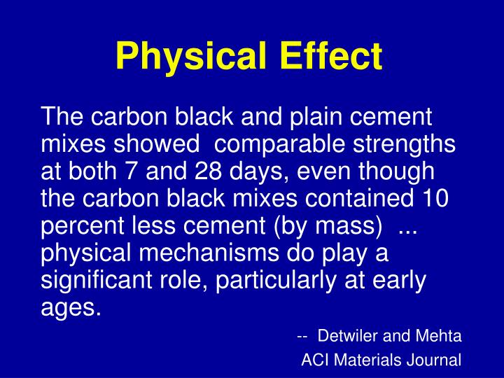 Physical Effect
