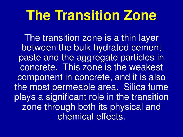 The Transition Zone