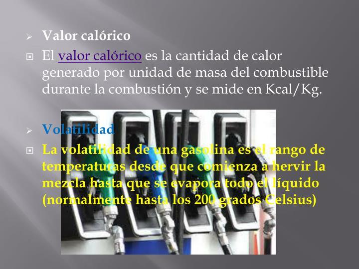 Valor calórico