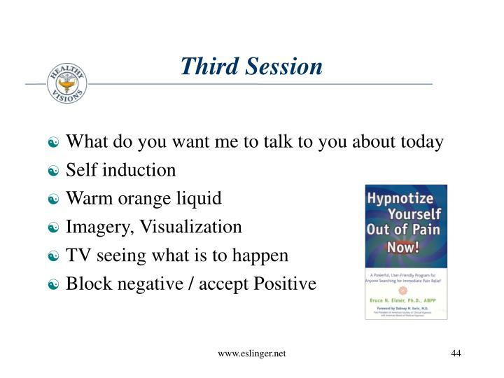 Third Session