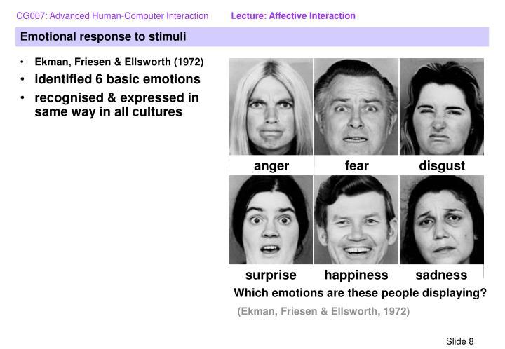 ekmans six basic emotions list amp definitions video - 720×498