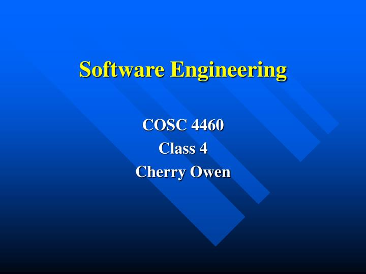 software engineering n.