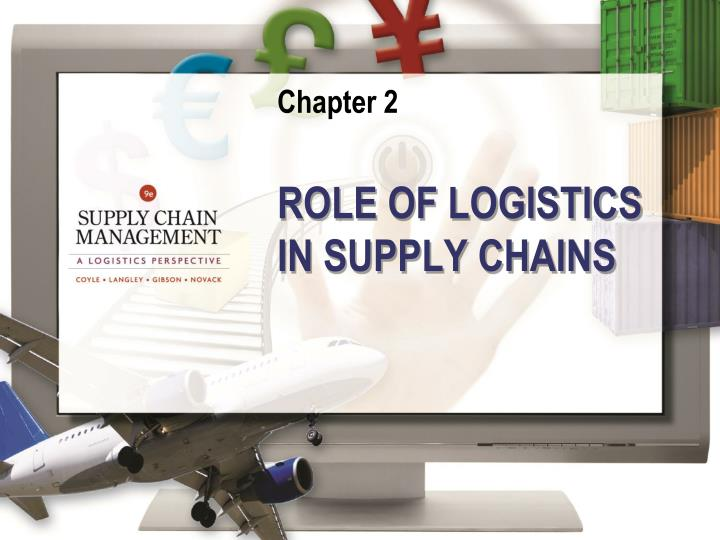 Role of logistics in supply chains